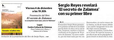 Dossier de prensa de las presentaciones extremeñas de El secreto de Zalamea