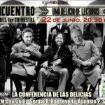 Encuentro de autores y lectores en Murcia