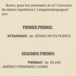 Microrrelato: Atrapados (2012)