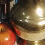 Carboncillos de aprendizaje: fruta y metal