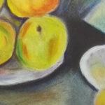 Pasteles: Naturaleza muerta de Paul Cézanne