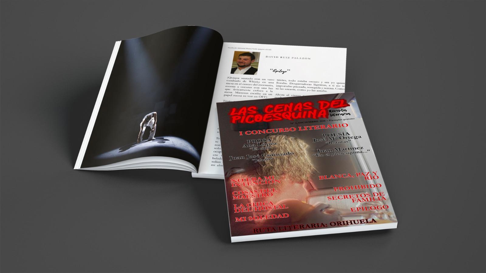 """Revista literaria """"Las cenas del Picoesquina"""""""