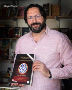 Sergio Reyes y El talismán del Yemení (Mursiyya) en la Feria del libro de Murcia
