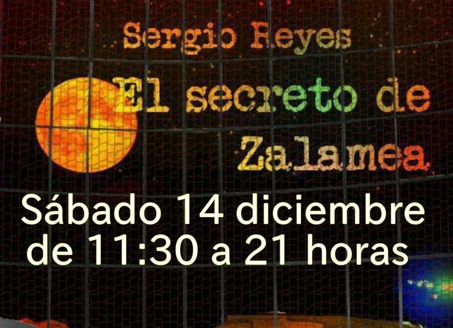 Próximo encuentro con el autor Sergio Reyes: 14 de diciembre en Albacete