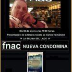Presentando a un autor: Carlos Hernández y La bruma del lago