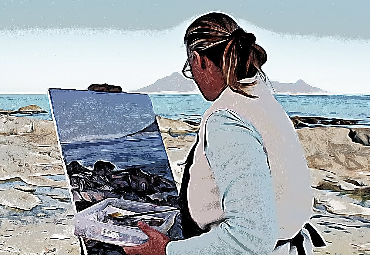 Pintora artística