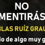 No mentirás - Blas Ruiz Grau (reseña con crucigrama interactivo)