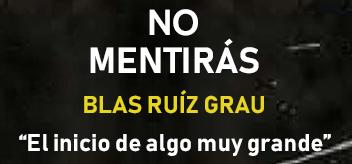 No mentirás – Blas Ruiz Grau (reseña con crucigrama interactivo)