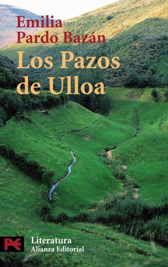 Portada de Los Pazos de Ulloa de Emilia Pardo Bazán, del que extraigo un ejemplo para ilustrar Trucos de ortografía: tildes y acentuación