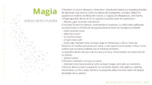 Relato Magia de Sergio Reyes Puerta ganador del concurso del Paso del cejudo