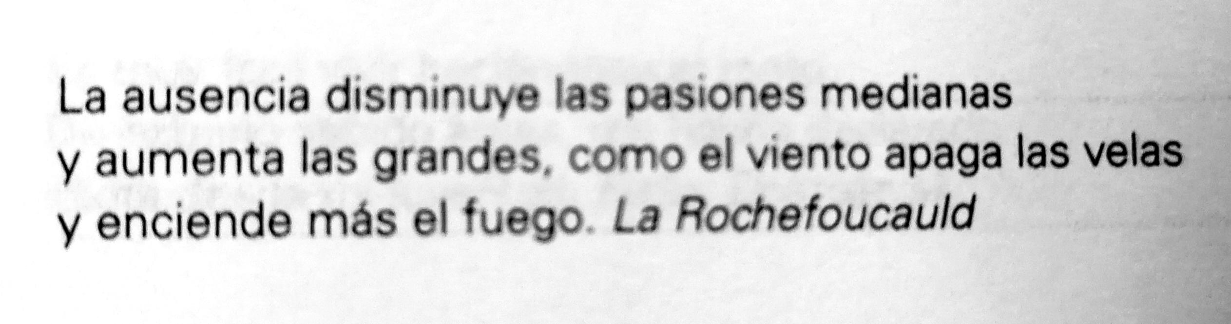 Frase de La Rochefoucauld