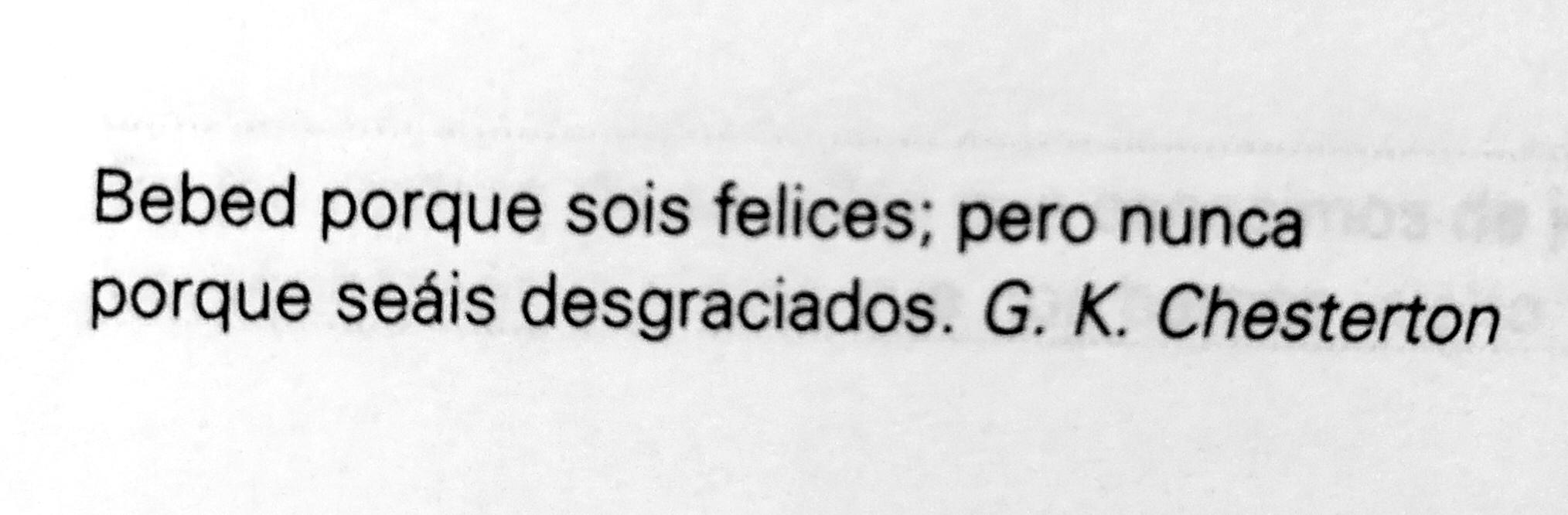 Frase G. K. Chesterton