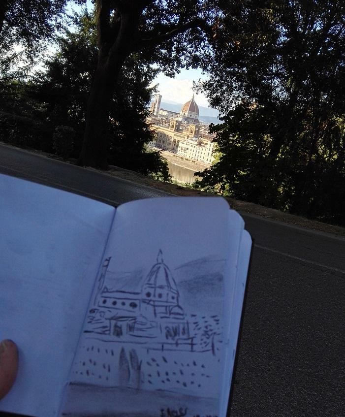 Apunte rápido en Florencia