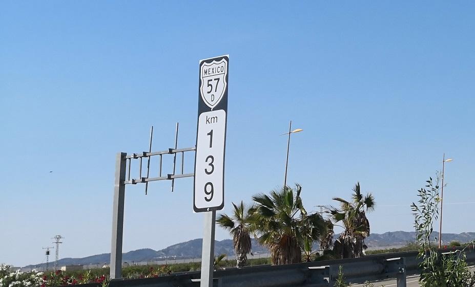 Punto kilométrico de México