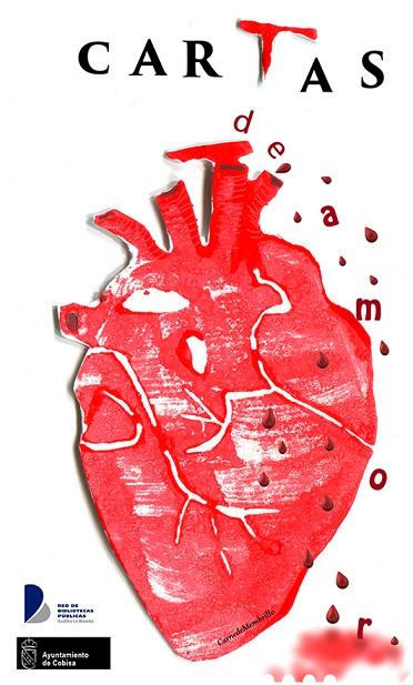 Cartel del X certamen de Cartas de amor de Cobisa