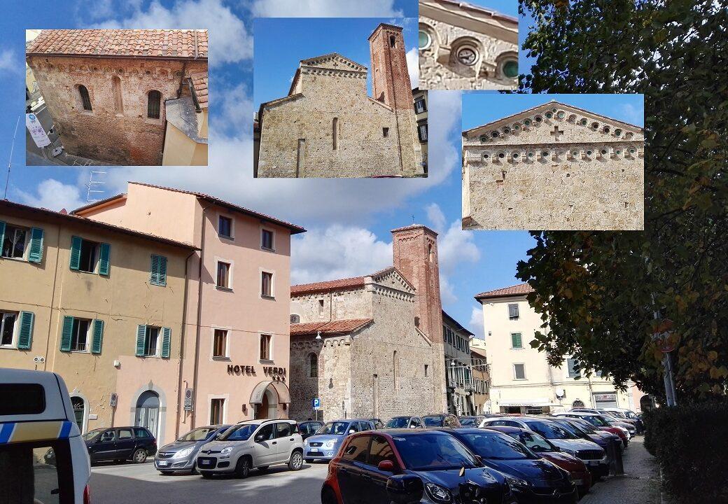 Iglesia de Sant'Andrea Forisportam en Pisa, Italia y algunos detalles. Fotos tomadas por Sergio Reyes para el artículo Pisa y al-Andalus