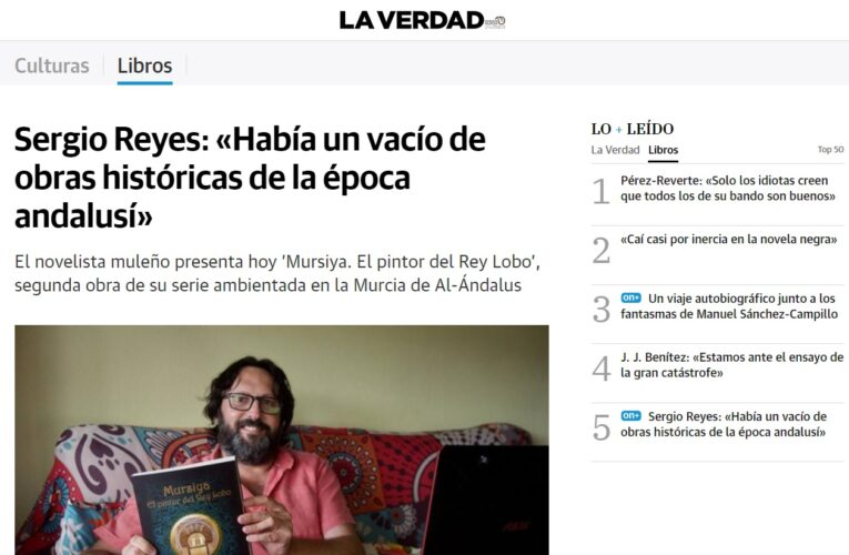 Entrevista a Sergio Reyes en La Verdad 22/09/2021