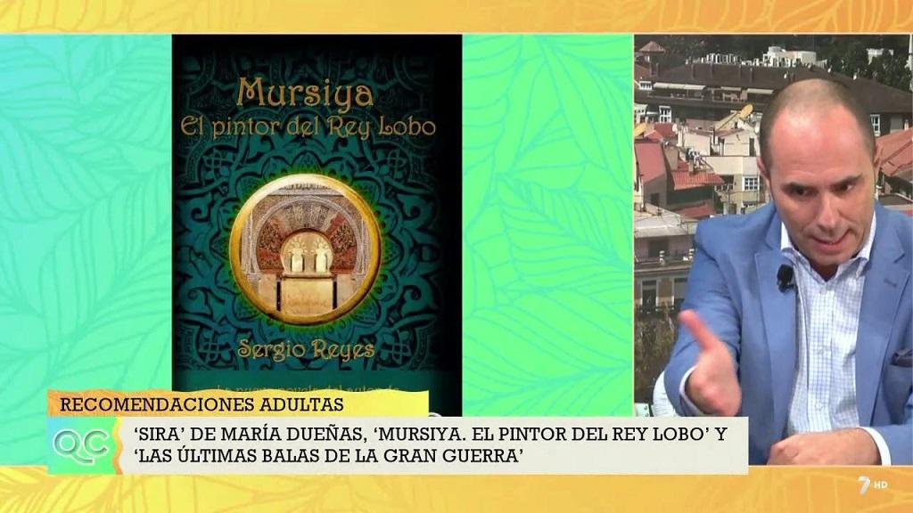 """Captura de David Castro hablando de """"Mursiya. El pintor del Rey Lobo"""""""
